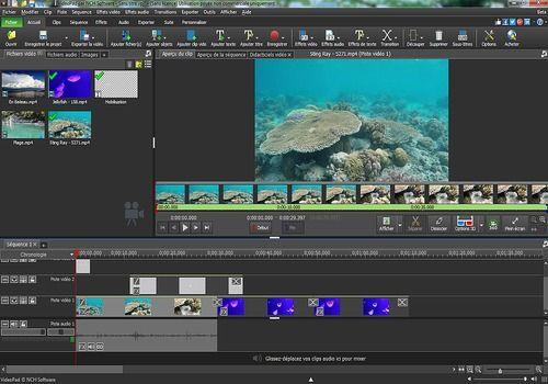 videopad - logiciel de montage vidéo gratuit en francais