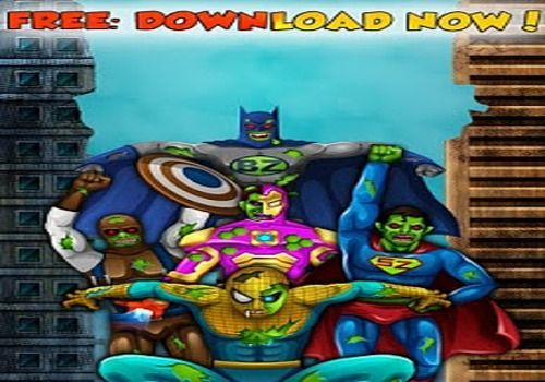 Telecharger Zombie Superhero game for Kids