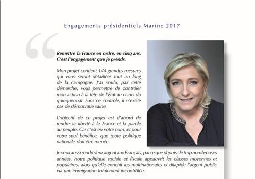 Telecharger Programme Marine Le Pen - Présidentielle 2017