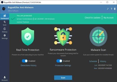 Telecharger RogueKiller Anti-malware