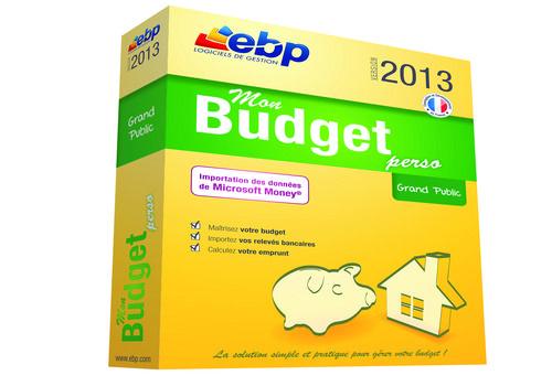 Telecharger EBP Mon Budget Perso
