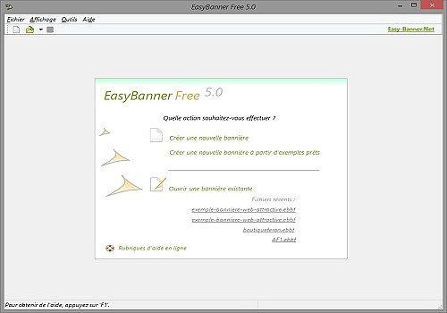 Telecharger EasyBanner Free