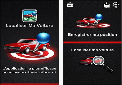 Telecharger Localiser Ma Voiture iOS