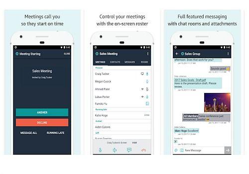 Telecharger Amazon Chime iOS