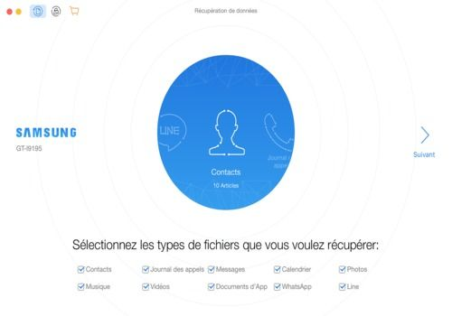 Telecharger PhoneRescue pour Android (pour Windows)