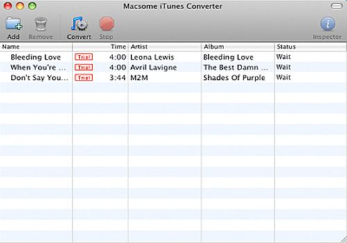 Telecharger Macsome iTunes Converter for Mac