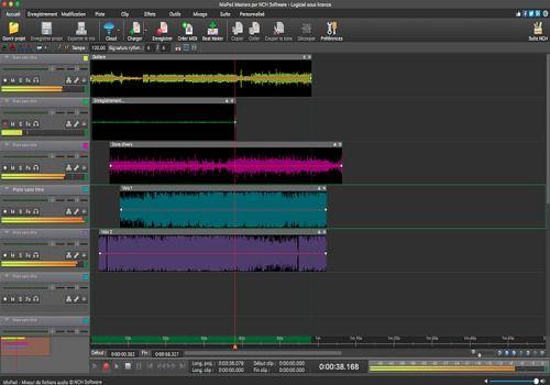 Telecharger MixPad - Mixeur de musique gratuit pour Mac