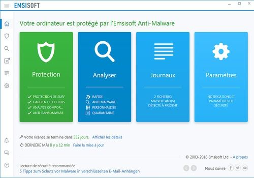 Telecharger Emsisoft Anti-Malware