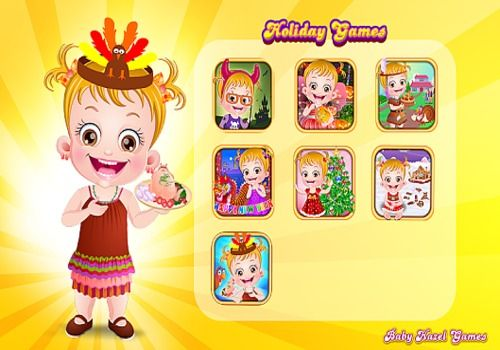 Telecharger Baby Hazel Holiday Games
