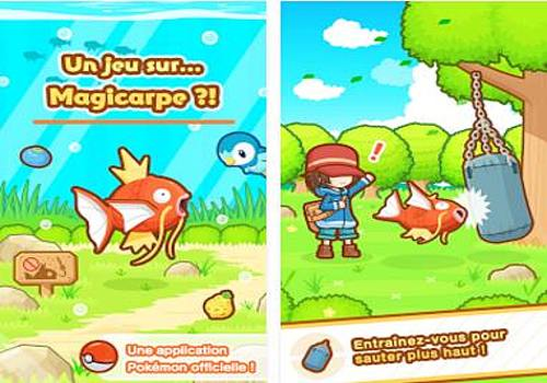 Telecharger Pokemon: Magicarpe Jump Android