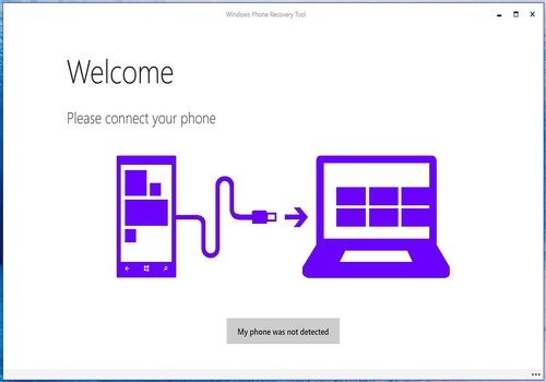 Telecharger Windows Phone Recovery Tool