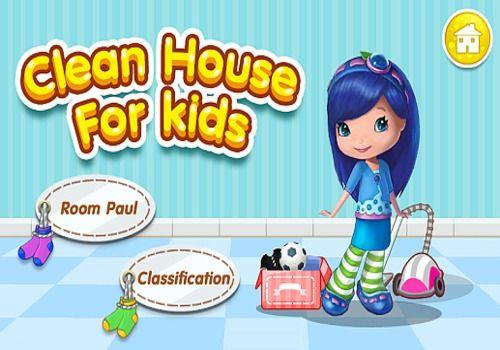 Telecharger Filles maison jeux nettoyage