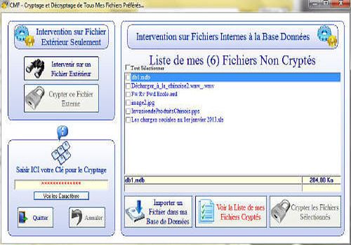 Telecharger CrypterMesFichiers 1.0.0.0 2013