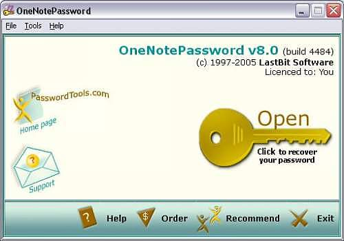 Telecharger OneNote Password