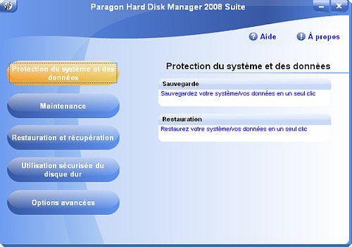 Telecharger Hard Disk Manager Professional