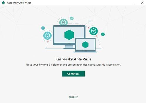 Telecharger Kaspersky Antivirus 2018