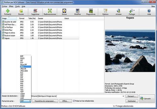 Telecharger Pixillion - Convertisseur d'images