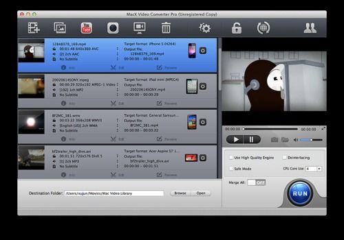 Telecharger MacX Video Converter Pro
