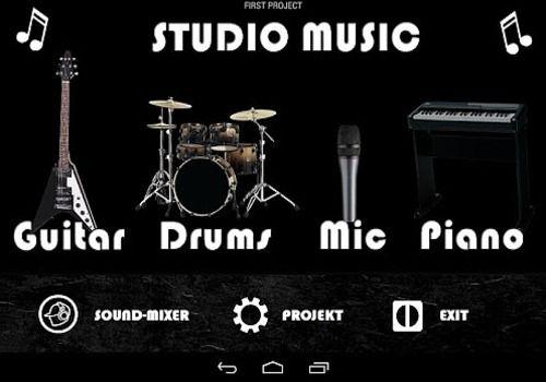 Telecharger Studio music - garage band