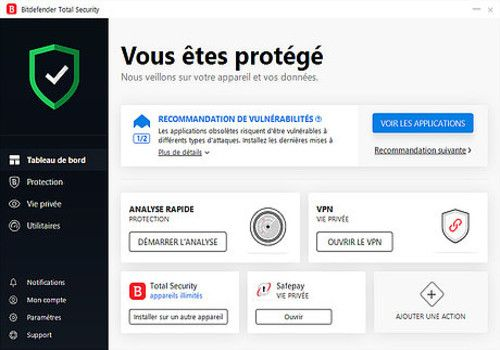 Telecharger Bitdefender Total Security 2019