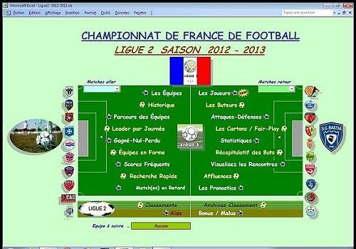 Telecharger Ligue2 2012-2013