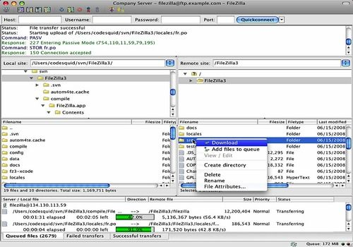 Telecharger Filezilla Mac