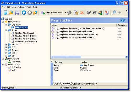 Telecharger WinCatalog Standard