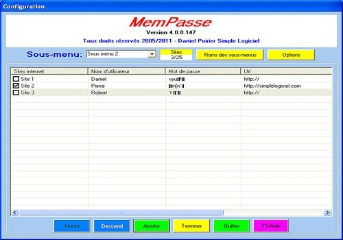 Telecharger MemPasse