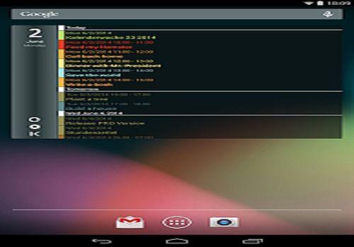 Telecharger Clean Calendar Widget Pro