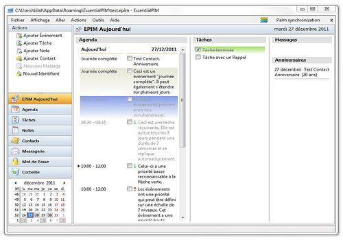 Telecharger EssentialPIM free