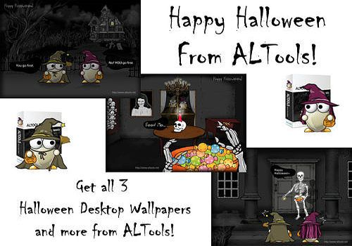 Telecharger ALTools Haunted House Halloween Desktops