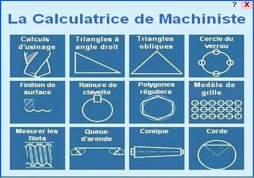 Telecharger La Calculatrice de Machiniste 2.0.0