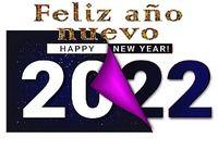 Happy New Year 2022 GIF 4K