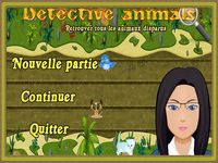 Détective animals