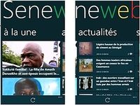 Seneweb Windows Phone