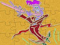 Happy Note Puzzle Flutiste