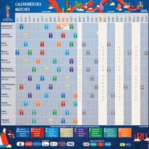 Télécharger Calendrier de la Coupe du monde 2018 à ...