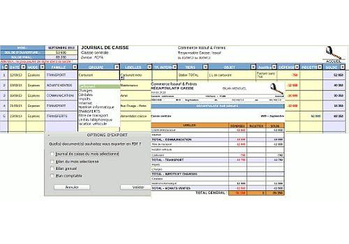 Telecharger Suivi Caisse 2.2