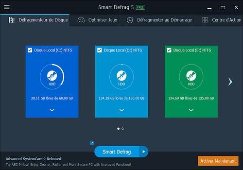 Telecharger Smart Defrag 5