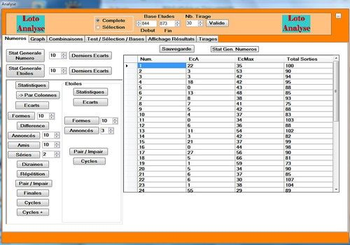 Telecharger Loto Analyse V1.5 Free (04/05/2014)