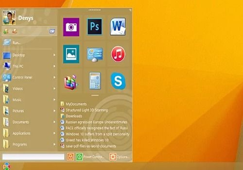 Telecharger Start Menu 10 pour Windows