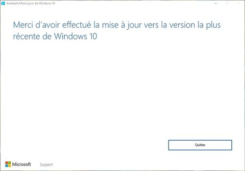 Telecharger Assistant Mise à Niveau Windows 10