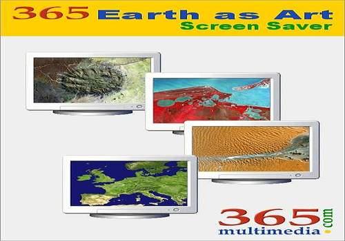 Telecharger 365 Earth as Art Screen Saver