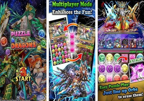 Telecharger Puzzle and Dragons Android
