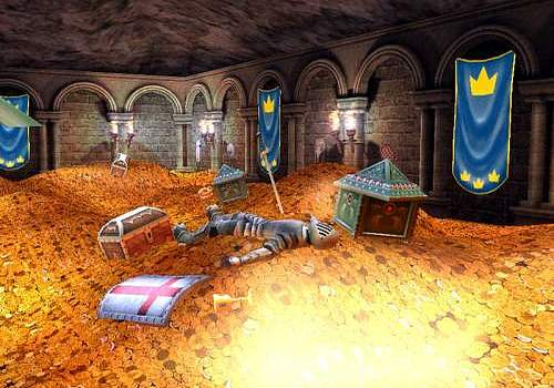 Telecharger Treasure Vault 3D Screensaver