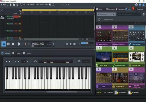 Telecharger MAGIX Music Maker