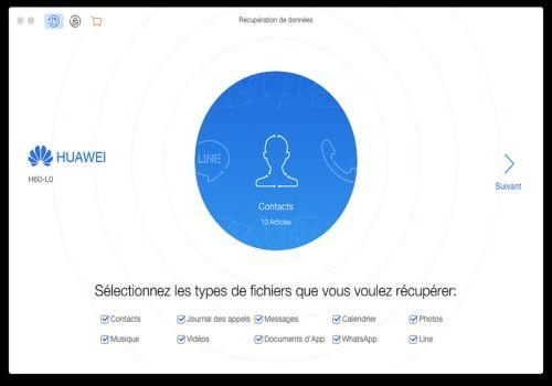 Telecharger PhoneRescue pour Android (pour MAC)