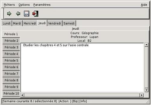 Telecharger Journal de classe Version 2.2