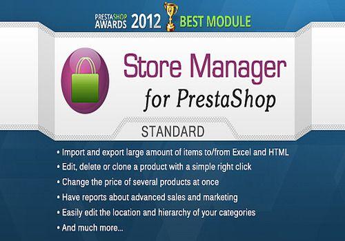 Telecharger Store Manager pour Prestashop