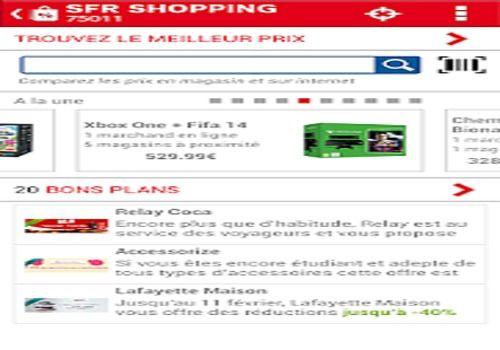 Telecharger SFR Shopping